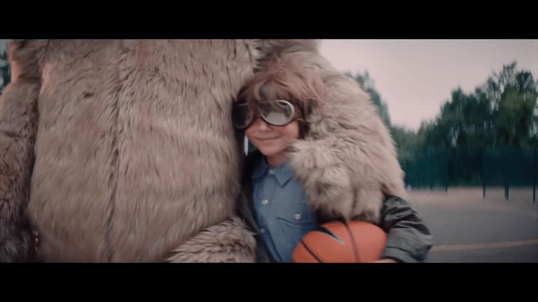 Tom Chaplin Teddy Bear Quicksand Character Costume Scene