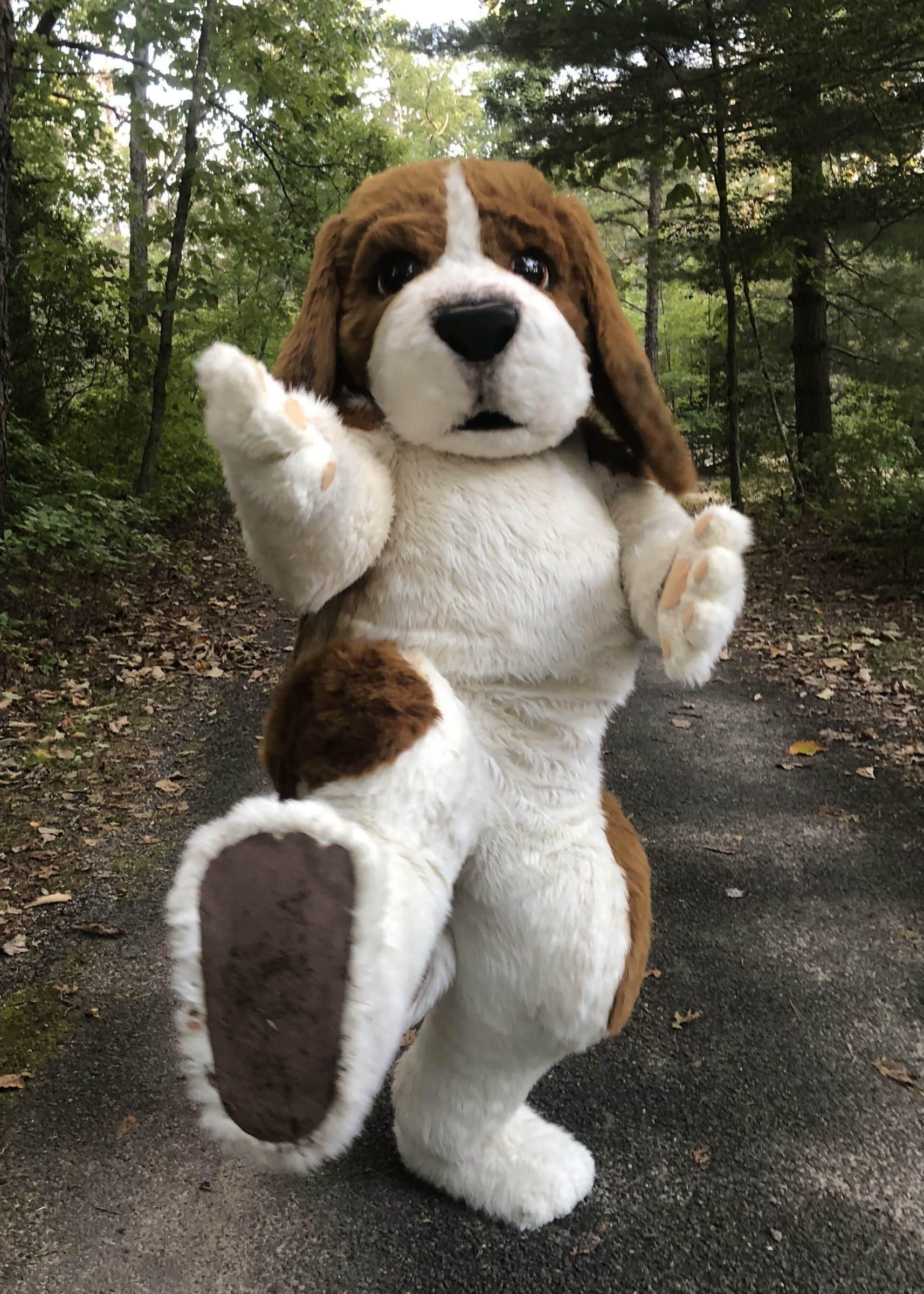 Beagle mascot costume
