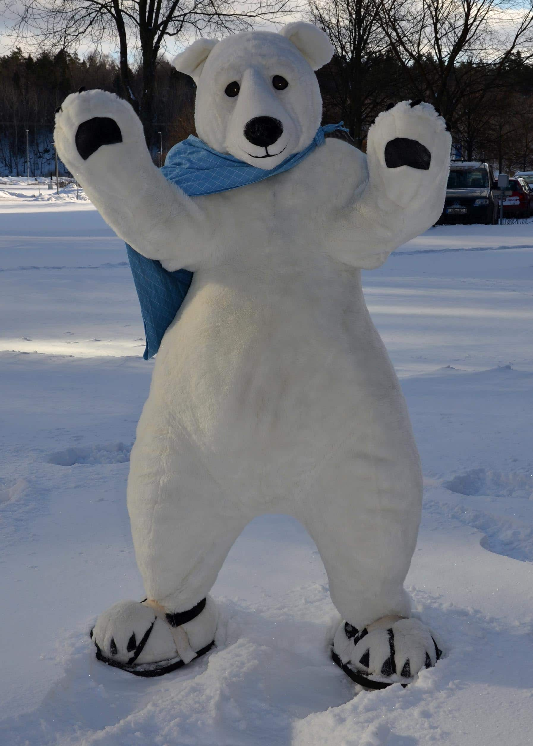 Cute Polar Bear Costume for TV FILM EVENTS