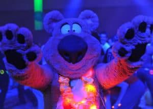 Adorable Bear Costume Suit