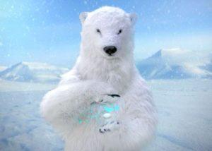 realistic Polar Bear animal Costume
