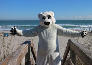 Adorable Polar Bear Costume Suit