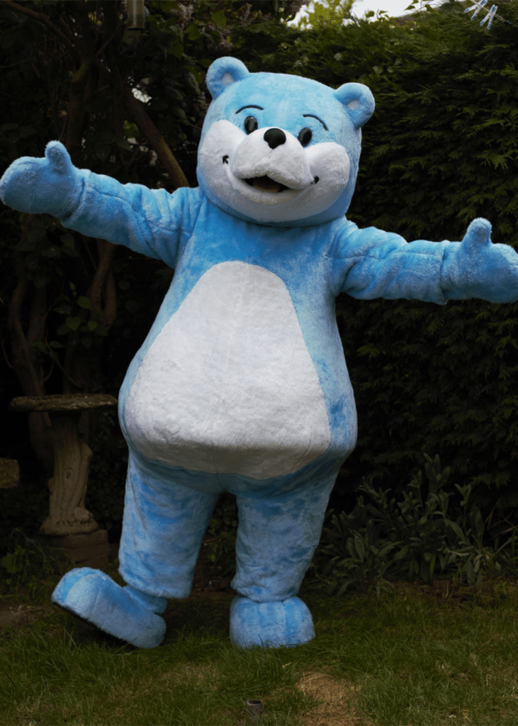 Book start Bear for BookTrust Mascot costume