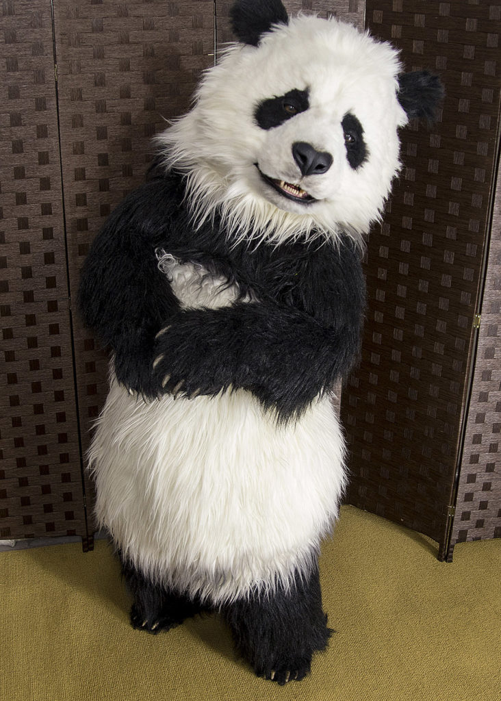 Manchu The Animatronic Panda Costume By Mascot Ambassadors