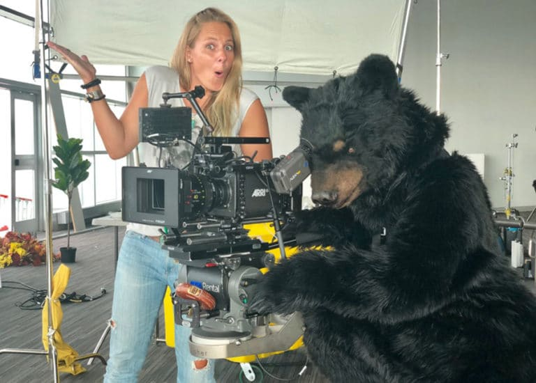 Animatronic Bear costume