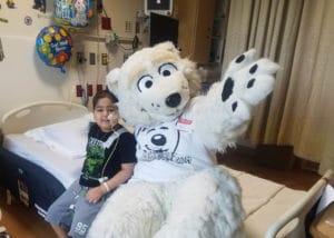 Our Friendly Polar Bear Mascot Beary