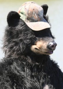 SPFX Special effects realistic Bear costume fishing