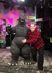 monet x change build series NYC Godzilla Mascot Ambassadors