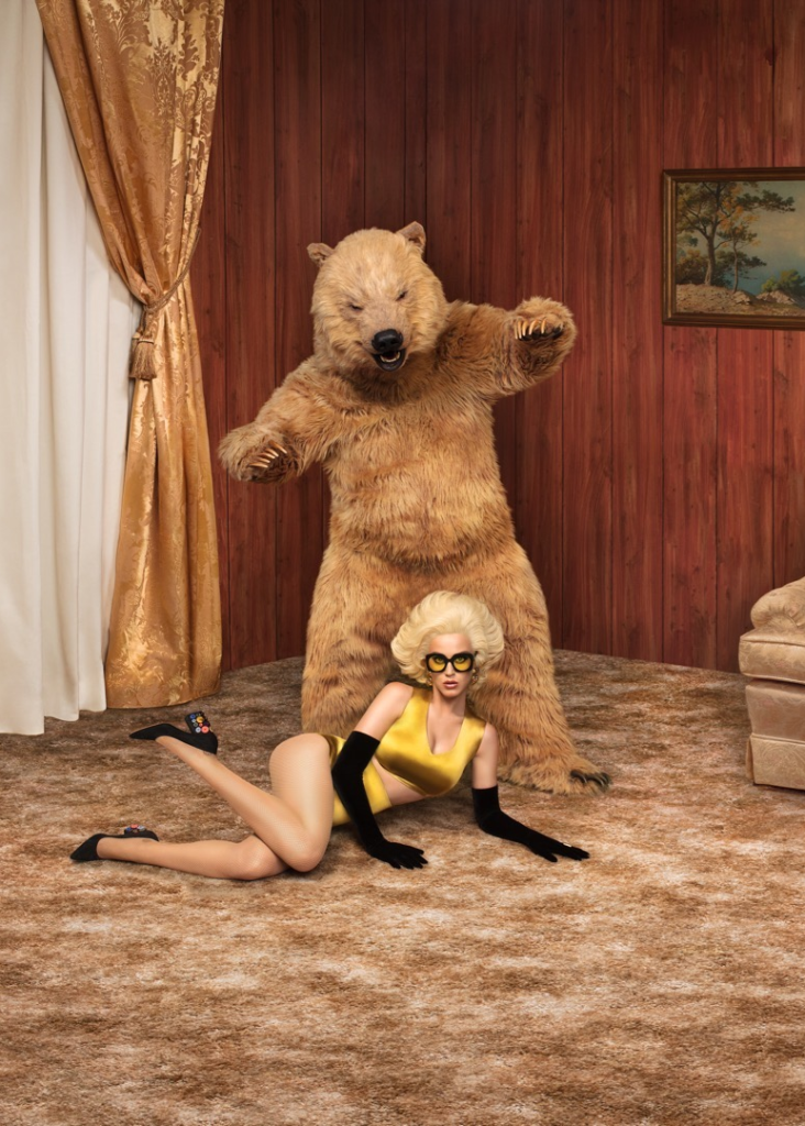 grizzly bear katy perry photoshoot