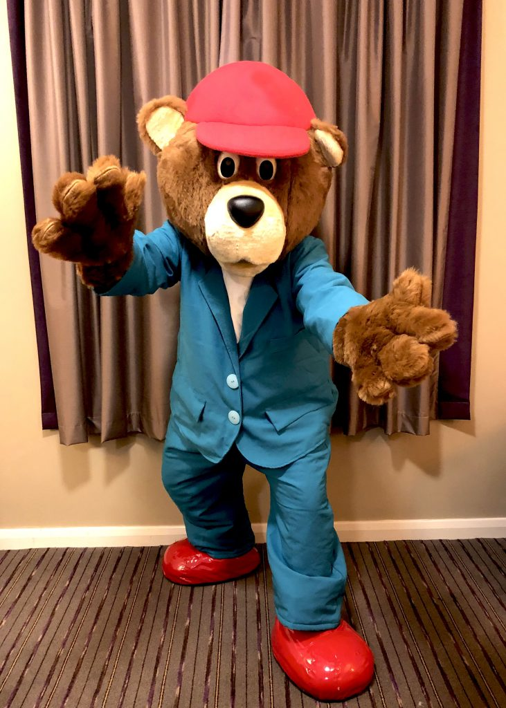 Adult teddy bear suit