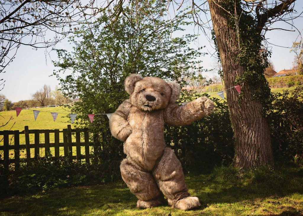 Teddy Bear character costume Bentley The Bear