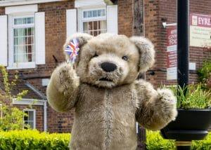 Realistic Teddy Bear costume Bentley The Bear