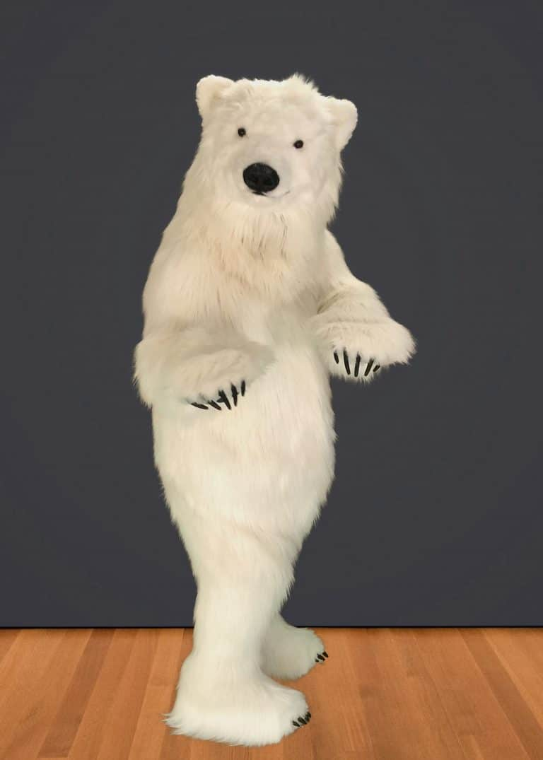 realistic polar bear suit for hire