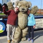Teddy Bear costume for hire for events and TV
